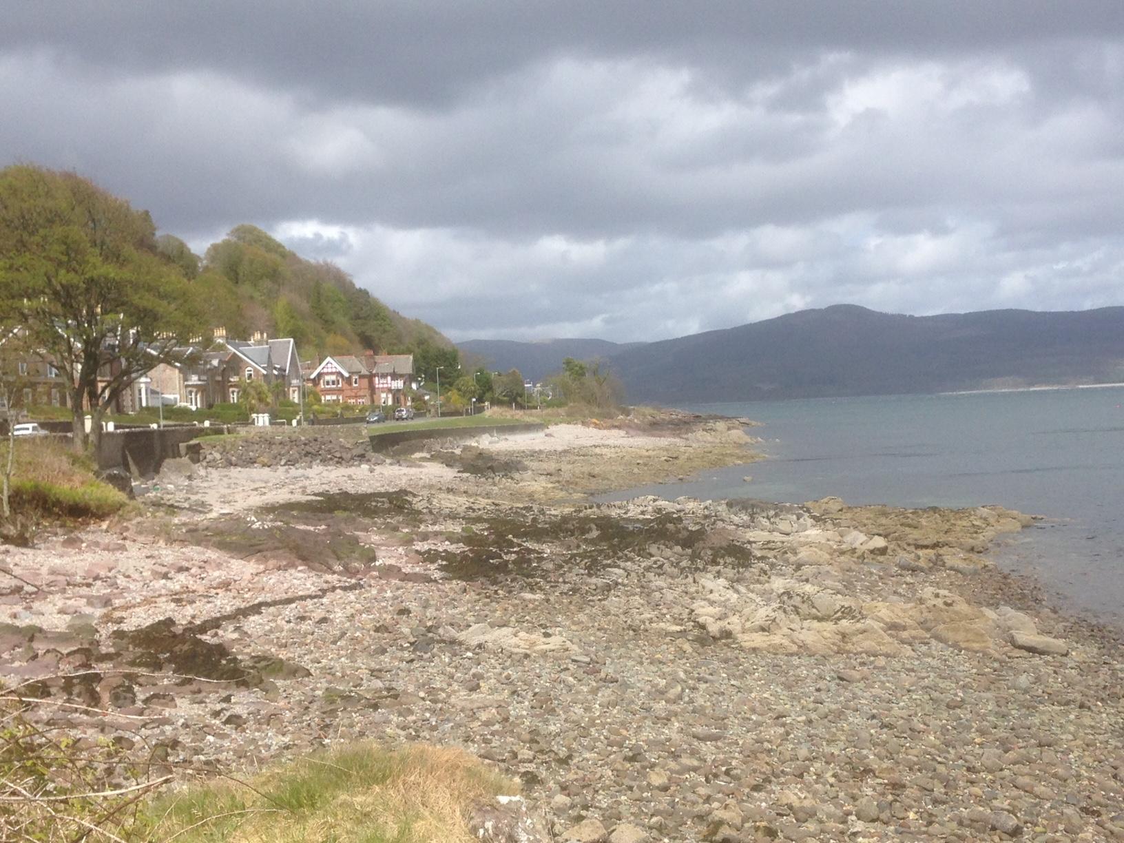 Bute shoreline